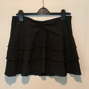 Diane Von Furstenburg (DvF) black skirt, Sz 10